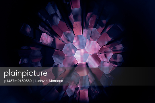 Kaleidoscope of colours - p1487m2150530 by Ludovic Mornand
