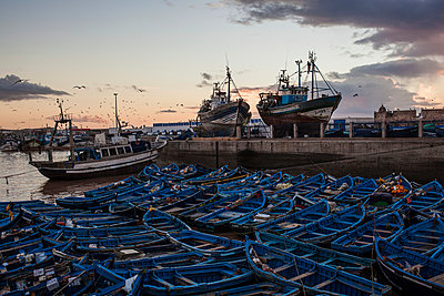 Harbor of Essaouira II - p941m907833 by lina gruen