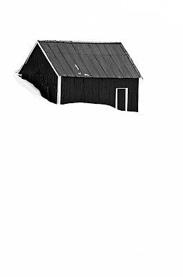 Cabin Fever - p1256m2098982 by Sandra Jordan