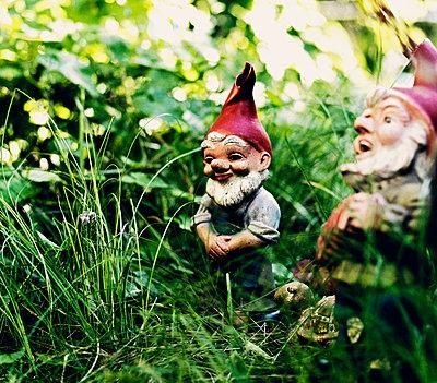 Zwei Gartenzwerge - p3180518 von Christoph Eberle