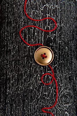 Golden button - p451m1000302 by Anja Weber-Decker