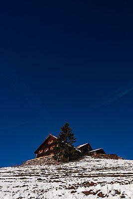 Mountain cabin - p842m2073334 by Renée Del Missier