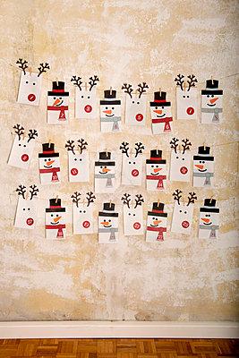 Adventskalender - p451m1502966 von Anja Weber-Decker