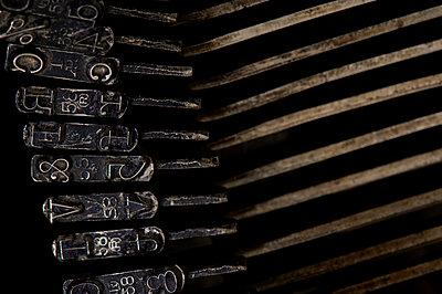 Alte Schreibmaschine - p4510943 von Anja Weber-Decker