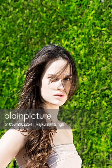 Portrait of a Woman - p1096m902254 by Rajkumar Singh