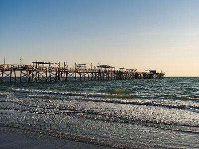 Pier on the Atlantic Coast - p1335m1586372 by Daniel Cullen