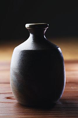 Japanese traditional pottery - p307m1106029f by Hideki Yoshihara