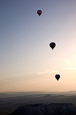 balloon flight - p382m1091342 by Anna Matzen