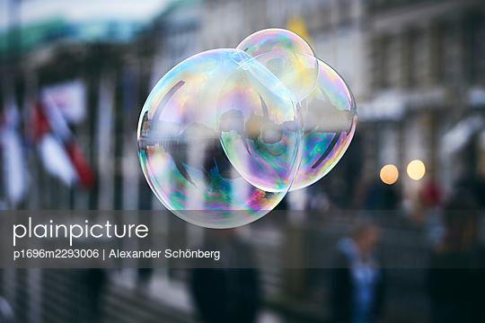 Blown bubble - p1696m2293006 by Alexander Schönberg