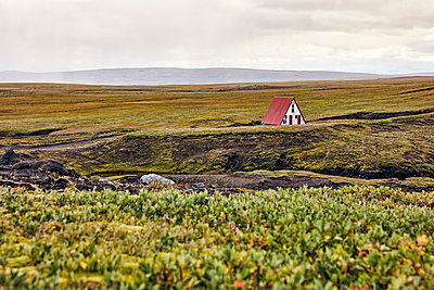 Single house in Icelandic highlands - p1305m1190650 by Hammerbacher