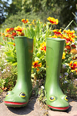 Rubber boots - p045m696824 by Jasmin Sander