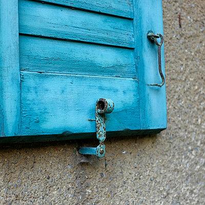 Window shutter - p989m929297 by Gine Seitz