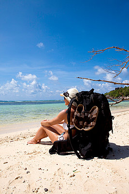 Beach holidays - p0452486 by Jasmin Sander