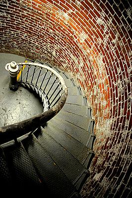 Treppe im Leuchtturm - p6320021 von Sarah Henderson