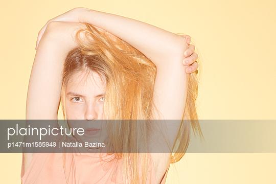 Young woman - p1471m1585949 by Natalia Bazina