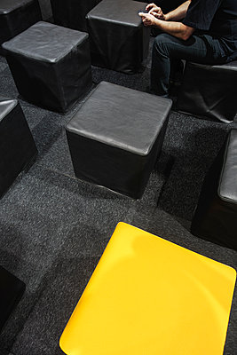 Schwarze und gelbe Würfel - p1418m1572442 von Jan Håkan Dahlström