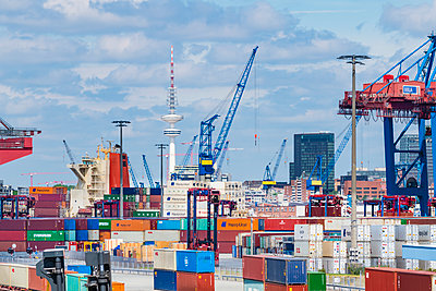 Containerlager - p488m2288077 von Bias