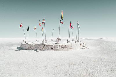 Salar de Uyuni - p1202m1061191 von Jörg Schwalfenberg