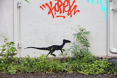 Urban Dino - p1272m1558552 von Steffen Scheyhing