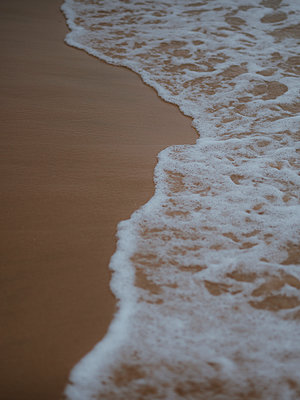 Waves and sand  - p1507m2272666 by Emma Grann
