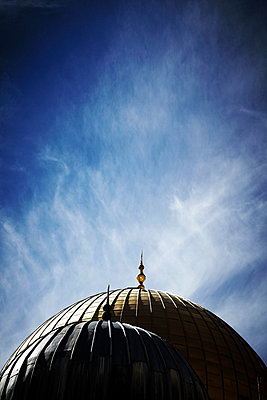 Kuppeln zweier Moscheen - p4150603 von Tanja Luther
