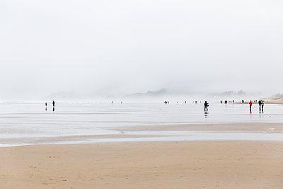 Spaziergang an der Küste - p756m2053402 von Bénédicte Lassalle