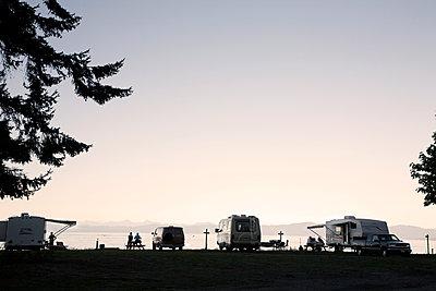 Camping by the Ocean - p836m1425894 by Benjamin Rondel