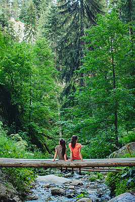 Girls in the mountains - p1432m2273301 by Svetlana Bekyarova