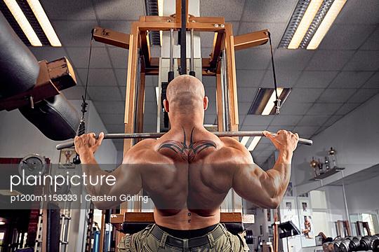Bodybuilding - p1200m1159333 von Carsten Görling