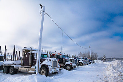 Trucks - p832m830710 von Philippe Charlot