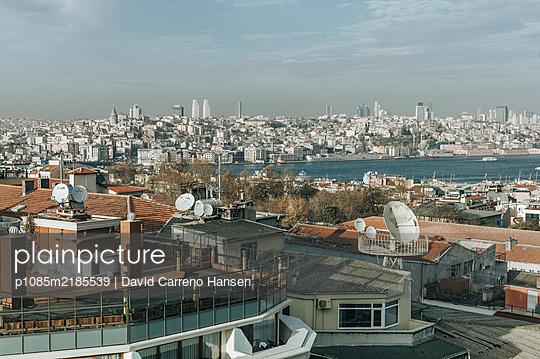 Über den Dächern von Istanbul - p1085m2185539 von David Carreno Hansen