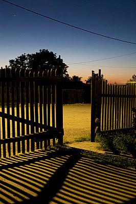 Garden fence - p1980182 by David Breun