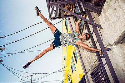 Stuntmen - p930m1162734 von Phillip Gätz