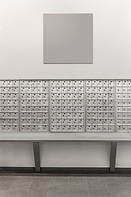 Mailboxes - p1280m1122743 by Dave Wall