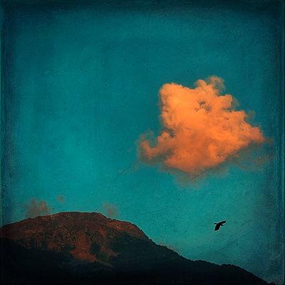 Cloud over a ridge - p300m2219228 by Dirk Wüstenhagen