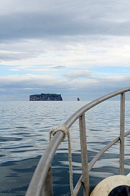 Bootsfahrt zur Insel Drangey - p470m1004940 von Ingrid Michel