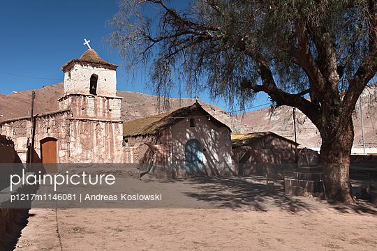 Kapelle, High Noon - p1217m1146081 von Andreas Koslowski