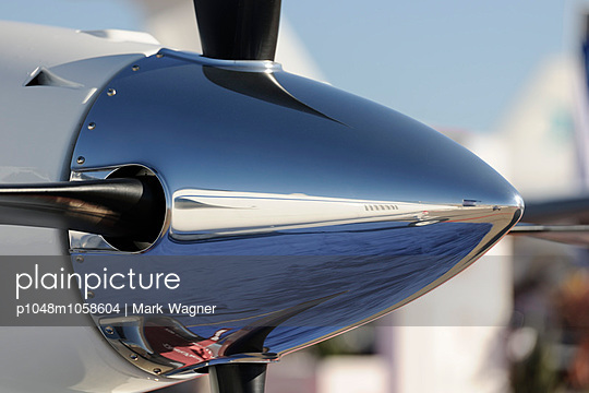 Airplane propeller hub - p1048m1058604 by Mark Wagner