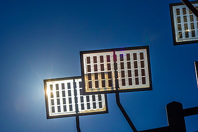 Germany, Ulm, solar tree in the Ulmer residential area solar city - p300m975507f by Walter G. Allgöwer