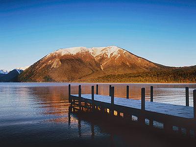Nelson lakes jetty - p1125m917368 by jonlove