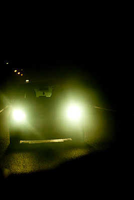Car at night - p4451343 by Marie Docher