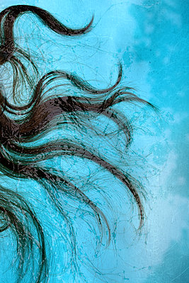 Hair in the water - p450m2004821 by Hanka Steidle