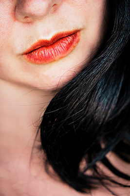 Woman's Lips - p1655m2233689 by lindsay basson