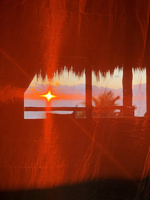 Sunset - p988m2081985 by Rachel Rebibo