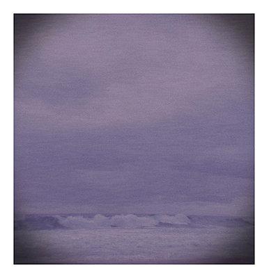 Lomo of a wave - p1089m855775 by Frank Swertz