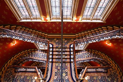 Staircase in London - p1399m1442182 by Daniel Hischer