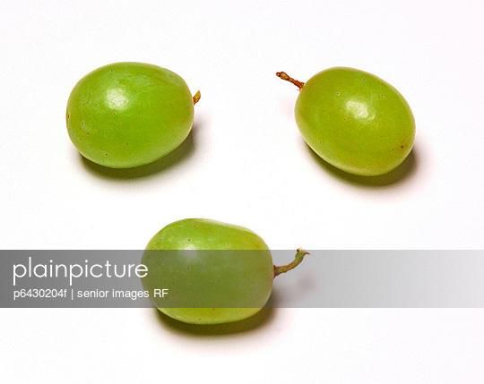 Drei gruene Trauben  - p6430204f von senior images RF