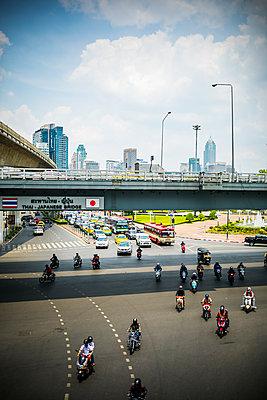 Verkehr in Bangkok - p680m1511670 von Stella Mai