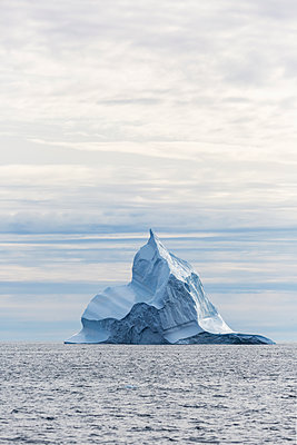 Majestic iceberg formation above Atlantic Ocean Greenland - p1023m2161496 by Martin Barraud