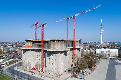 Bunkerbaustelle - p1079m2173892 von Ulrich Mertens
